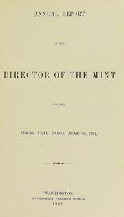 U.S. Mint Report (1901)