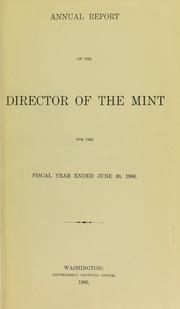 U.S. Mint Report (1906)