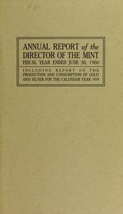 U.S. Mint Report (1960)