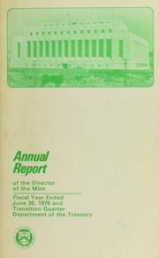 U.S. Mint Report (1976)