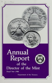 Annual Report of the Director of the Mint