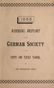 Annual report of the German...