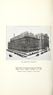 Vol 45: ... Annual report of the Presbyterian Hospital in the city of Chicago, with the constitution, by-laws and charter.