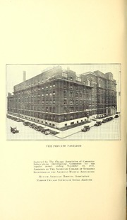 Vol 52: ... Annual report of the Presbyterian Hospital in the city of Chicago, with the constitution, by-laws and charter.