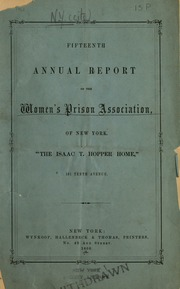 Annual report of the Woman'...