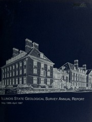 Annual Report To The Board Of Natural Resources And Conservation - Illinois state geological survey