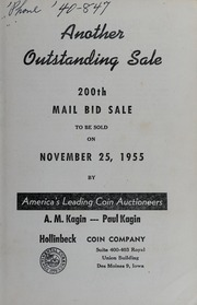Another Outstanding Sale: 200th Mail Bid Sale