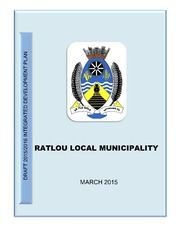 DRAFT RATLOU LM IDP-BUDGET 2015-2016 (MARCH 2015)