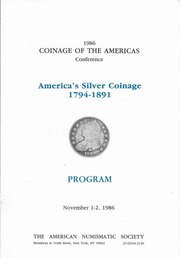 Coinage of the Americas Conference