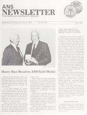 ANS Newsletter Fall 1984