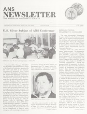 ANS Newsletter Fall 1986