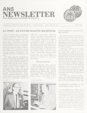 ANS Newsletter Fall 1988