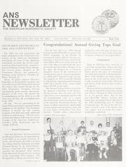 ANS Newsletter Fall 1991