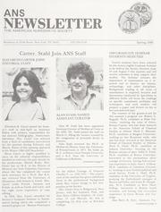 ANS Newsletter Spring 1980