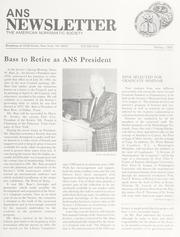 ANS Newsletter Spring 1984