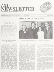 ANS Newsletter Spring 1986