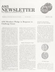 ANS Newsletter Spring 1988