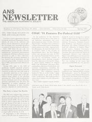 ANS Newsletter Spring 1991