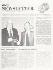 ANS Newsletter Spring 1992