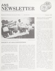 ANS Newsletter Summer 1979