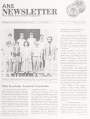 ANS Newsletter Summer 1984