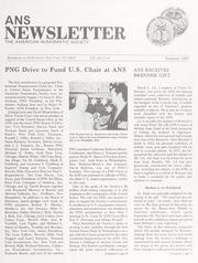 ANS Newsletter Summer 1987