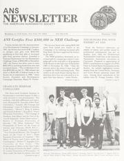 ANS Newsletter Summer 1988