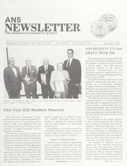 ANS Newsletter Summer 1992