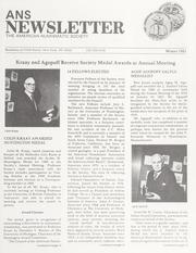 ANS Newsletter Winter 1981