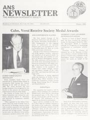 ANS Newsletter Winter 1984