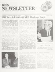 ANS Newsletter Winter 1988