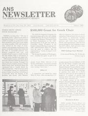 ANS Newsletter Winter 1989