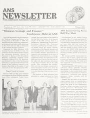 ANS Newsletter Winter 1991