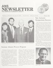 ANS Newsletter Winter 1992