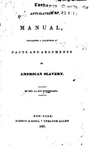 an argument against slavery What arguments did abolitionists make against slavery how did abolitionists propose to end slavery these historical questions are at the center of this two- lesson unit focused on seven primary documents in engaging with these questions and these documents, your students will consider the impacts and the limits of.