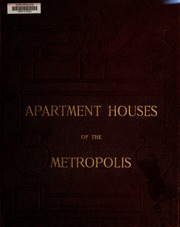 Apartment houses of the met...