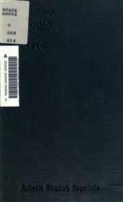 an apology for poetry by sir The poems of sir philip sidney (edited by william a ringler jr) oxford, uk: clarendon press, 1962 an apology for poetry or, the defence of poetry.