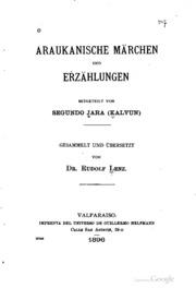 Araukanische märchen und erzählungen mitgeteilt