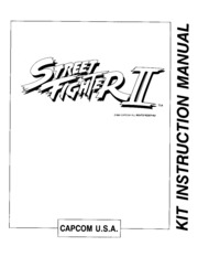 Street Fighter Ii The World Warrior Kit Instruction Manual