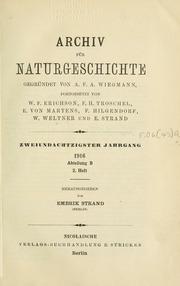 Vol v.82 Heft 2 1916: Archiv furgeschichte