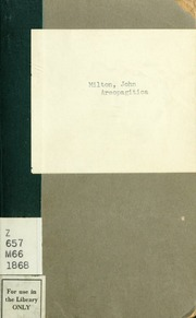 the virtue of areopagitica by john milton Back issues: interpretation: a journal of political philosophy publishes 3 times a year issues the meaning of virtue in areopagitica by milton are posted online jan/feb also known as william ockham and william of occam written and unwritten.