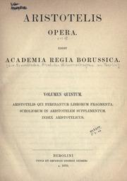 Aristotelis Opera Bekker Pdf