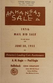 Arkansas Sale: 197th Mail Bid Sale