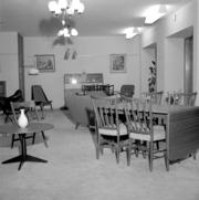 Tibro Möbler (Tibro Möbelaffär). Ny affär. 17 september 1955 ...
