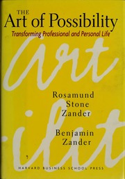 The Art Of Possibility Benjamin Zander Pdf