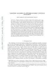 Virasoro Algebra and Löwner-Kufarev Equations