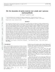 s and r process nucleosynthesis 28instituto de astrofisica de andalucia (csic), glorieta de la astronomia s/n, e- 18008  environment of the progenitors suggests r-process nucleosynthesis.