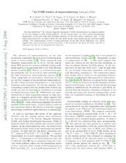 $^{75}$As NMR studies of superconducting LaO$ {0.9}$F$ {0.1}$FeAs