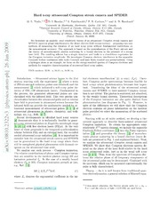 Unified ab initio treatment of attosecond photoionization and Compton scattering