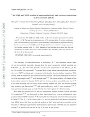 $^{75}$As NQR and NMR studies of superconductivity and electron correlations in iron arsenide Li$ {x}$FeAs